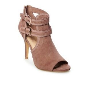 Lauren Conrad Sweetheart Mauve High Heels Size 5